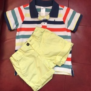 Boys H&M short set